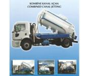 Combined Canal Jetting Truck