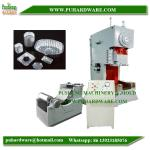 semi auto aluminum foil container making machine